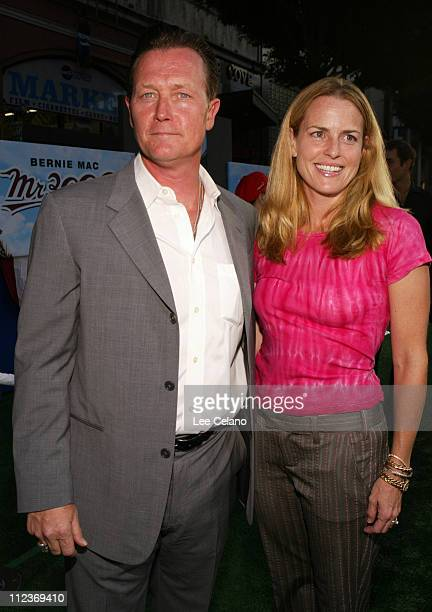 """Robert Patrick and wife Barbara during """"Mr. 3000"""" Los Angeles Premiere - Red Carpet at El Capitan Theatre in Hollywood, California, United States."""