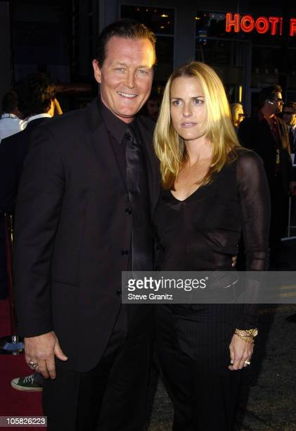 "Robert Patrick and wife Barbara Patrick during ""Ladder 49"" World Premiere - Arrivals at El Capitan Theatre in Hollywood, California, United States."