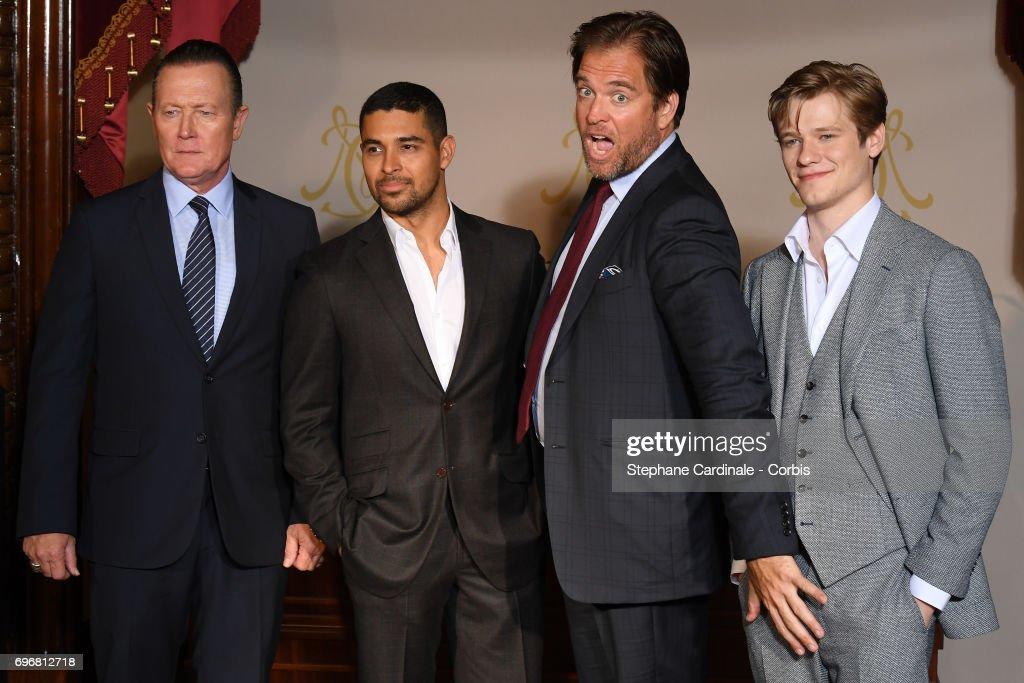 Robert Patrick, Wilmer Valderrama, Michael Weatherly and Lucas Till attend the After Party Opening Ceremony of the 57th Monte Carlo TV Festival at the Monte-Carlo Casino on June 16, 2017 in Monte-Carlo, Monaco.