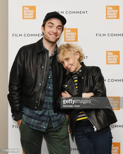 Robert Pattinson and director Claire Denis attend The Film Society of Lincoln Center's Film Comment Free Talk for High Life at Elinor Bunin Munroe...