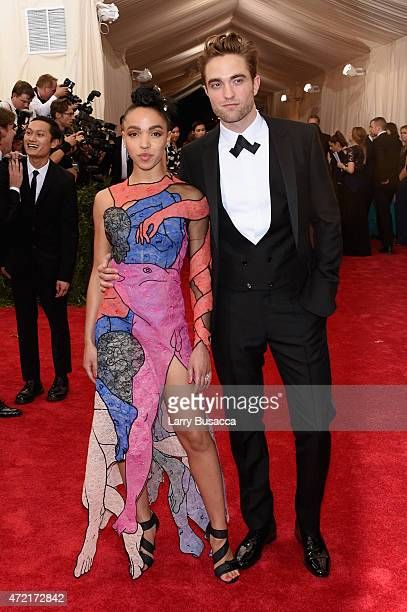 Robert Pattinson and FKA Twigs attend the China Through The Looking Glass Costume Institute Benefit Gala at the Metropolitan Museum of Art on May 4...
