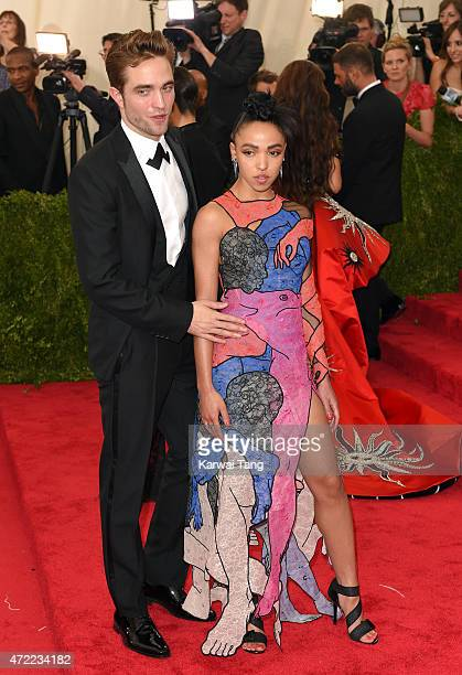 Robert Pattinson and FKA Twigs attend the 'China Through The Looking Glass' Costume Institute Benefit Gala at Metropolitan Museum of Art on May 4...