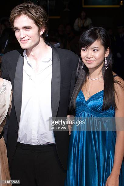 Robert Pattinson and Katie Leung during 'Harry Potter and the Goblet of Fire' Tokyo Premiere Arrivals in Tokyo Japan