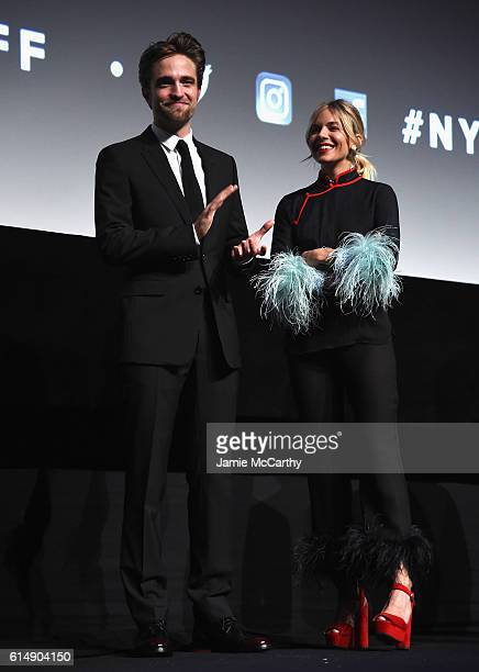 Robert Pattinson and Sienna Miller attend the Closing Night Screening of The Lost City Of Z for the 54th New York Film Festival at Alice Tully Hall...