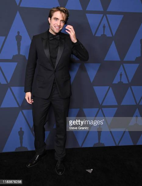 Robert Pattinson arrives at the Academy Of Motion Picture Arts And Sciences' 11th Annual Governors Awards at The Ray Dolby Ballroom at Hollywood...