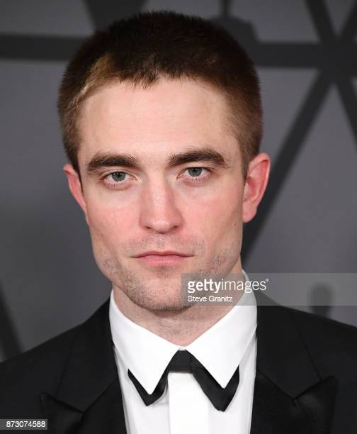 Robert Pattinson arrives at the Academy Of Motion Picture Arts And Sciences' 9th Annual Governors Awards at The Ray Dolby Ballroom at Hollywood...