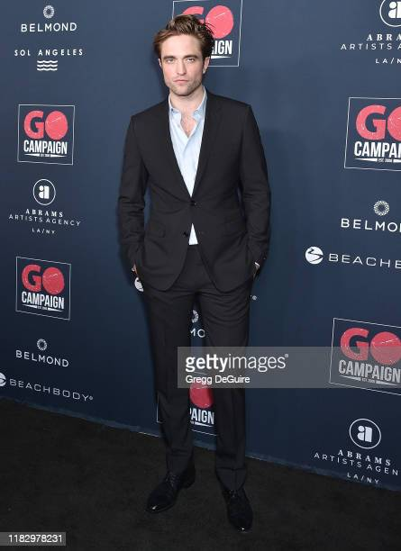 Robert Pattinson arrives at the Go Campaign's 13th Annual Go Gala at NeueHouse Hollywood on November 16, 2019 in Los Angeles, California.