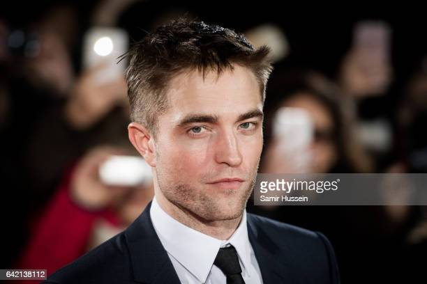 Robert Pattinson arrives at The Lost City of Z UK premiere on February 16 2017 in London United Kingdom