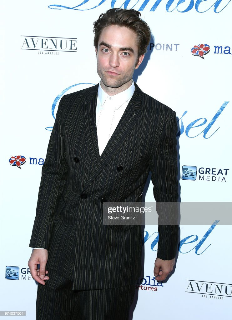 Robert Pattinson arrives at the Magnolia Pictures' 'Damsel' Premiere at ArcLight Hollywood on June 13, 2018 in Hollywood, California.