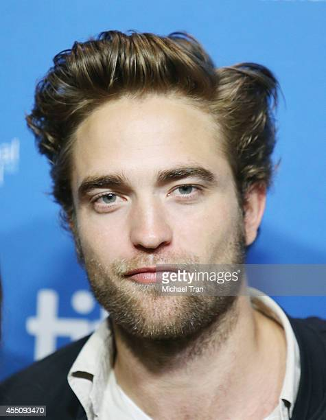 Robert Pattinson arrives at the photo call of The Imitation Game during 2014 Toronto International Film Festival - Day 6 held on September 9, 2014 in...