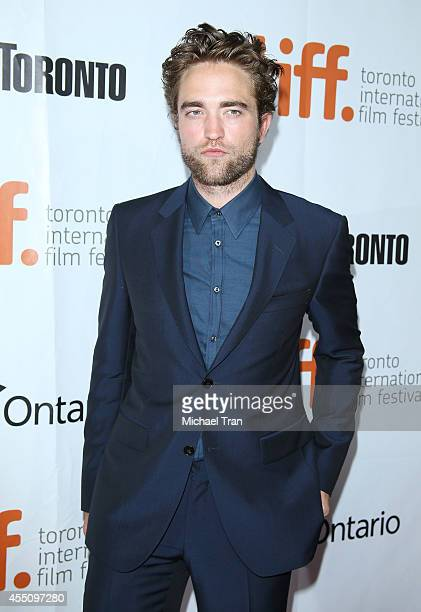 Robert Pattinson arrives at the premiere of Maps Of The Stars held during the 2014 Toronto International Film Festival - Day 6 held on September 9,...