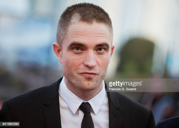 Robert Pattinson arrives for the screening of the film 'Good Time' during the 43rd Deauville American Film Festival on September 2 2017 in Deauville...
