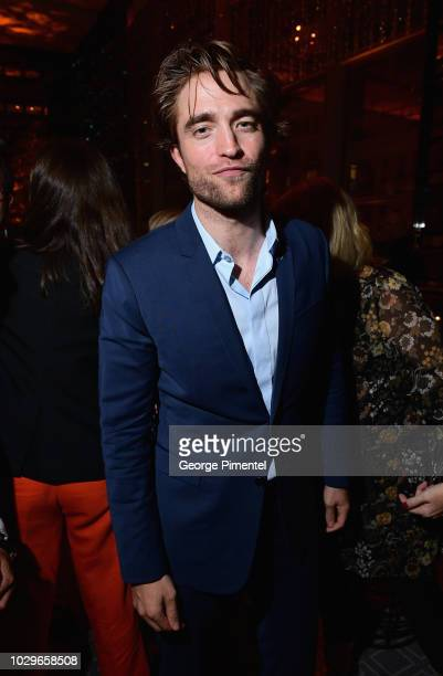 Robert Pattinson attends 2018 HFPA and InStyle's TIFF Celebration at the Four Seasons Hotel on September 8 2018 in Toronto Canada