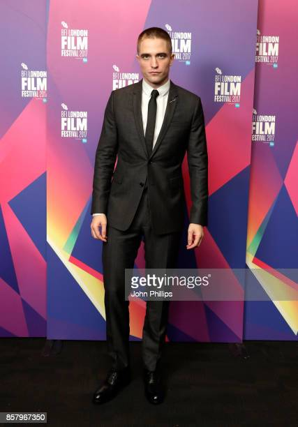 Robert Pattinson attends a screening for Good Time during the 61st BFI London Film Festival on October 5 2017 in London England
