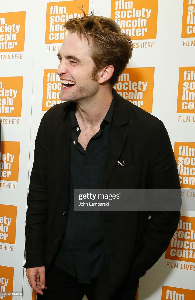 Robert Pattinson attends Film Society of Lincoln Center presents 'Good Time' at Walter Reade Theater on July 26, 2017 in New York City.