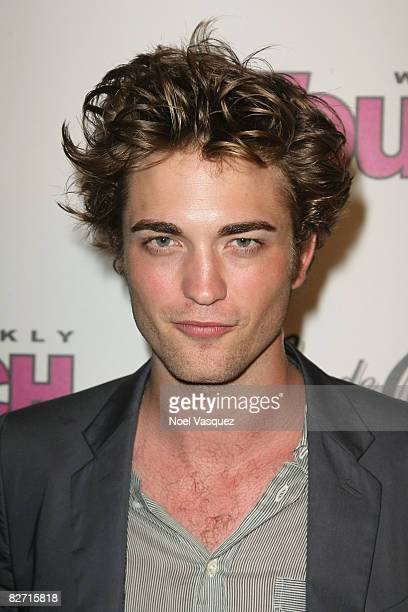 Robert Pattinson attends InTouch Weekly's ICONSIDOLS PostVMA Celebration at Chateau Marmont on September 7 2008 in Los Angeles California