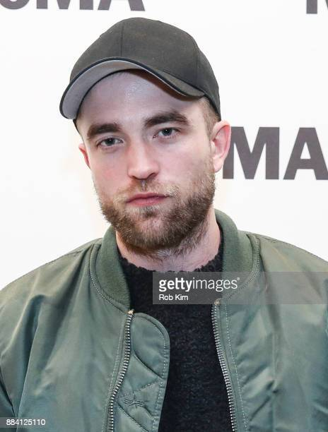 Robert Pattinson attends MoMA's Contenders Screening of 'Good Time' at MoMA on December 1 2017 in New York City