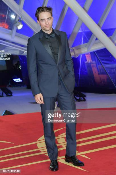 Robert Pattinson attends the 17th Marrakech International Film Festival opening ceremony on November 30 2018 in Marrakech Morocco