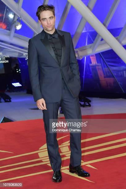 Robert Pattinson attends the 17th Marrakech International Film Festival opening ceremony on November 30 2018 in Marrakech Morocco