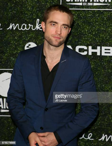 Robert Pattinson attends the 2017 GO Campaign Gala on November 18 2017 in Los Angeles California