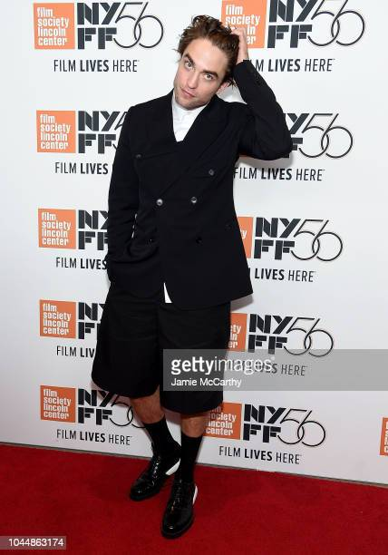 Robert Pattinson attends the 56th New York Film Festival screening of High Life at Alice Tully Hall Lincoln Center on October 2 2018 in New York City