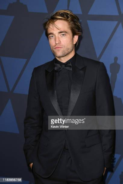Robert Pattinson attends the Academy Of Motion Picture Arts And Sciences' 11th Annual Governors Awards at The Ray Dolby Ballroom at Hollywood...