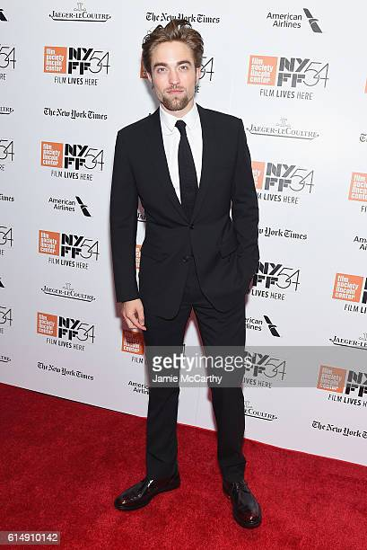 Robert Pattinson attends the Closing Night Screening of 'The Lost City Of Z' for the 54th New York Film Festival at Alice Tully Hall Lincoln Center...