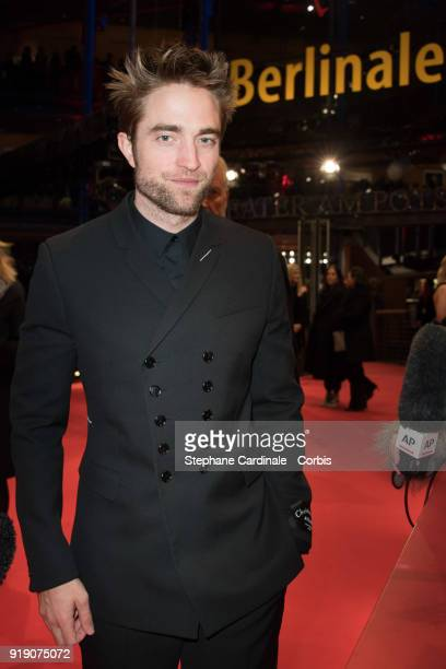 Robert Pattinson attends the 'Damsel' premiere during the 68th Berlinale International Film Festival Berlin at Berlinale Palast on February 16 2018...
