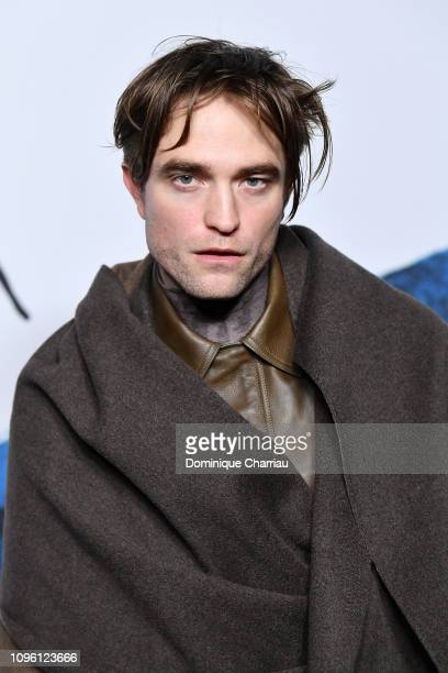 Robert Pattinson attends the Dior Homme Menswear Fall/Winter 20192020 show as part of Paris Fashion Week on January 18 2019 in Paris France