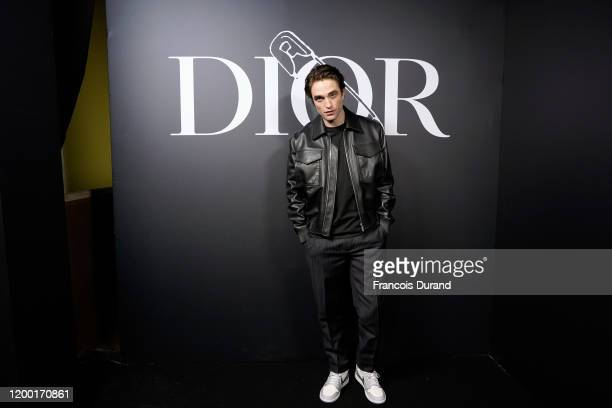 Robert Pattinson attends the Dior Homme Menswear Fall/Winter 20202021 show as part of Paris Fashion Week on January 17 2020 in Paris France