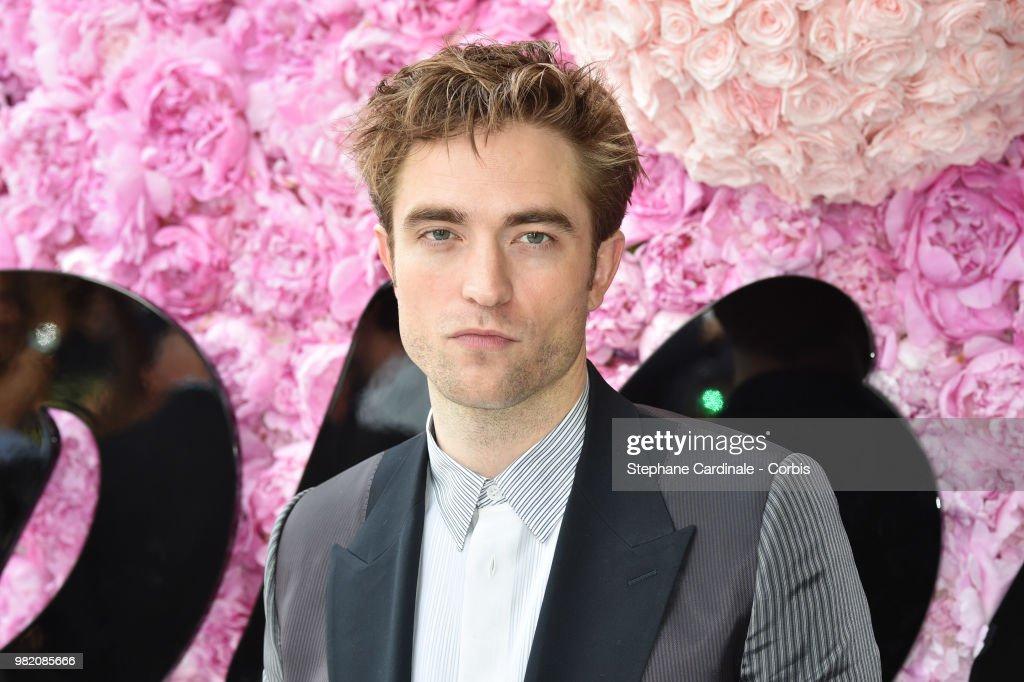 Robert Pattinson attends the Dior Homme Menswear Spring/Summer 2019 show as part of Paris Fashion Week Week on June 23, 2018 in Paris, France.