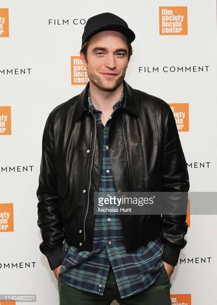 Robert Pattinson attends The Film Society of Lincoln Center's Film Comment Free Talk for High Life at Elinor Bunin Munroe Film Center on April 04...
