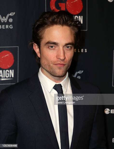 Robert Pattinson attends the GO Campaign Gala 2018 at City Market Social House on October 20 2018 in Los Angeles California