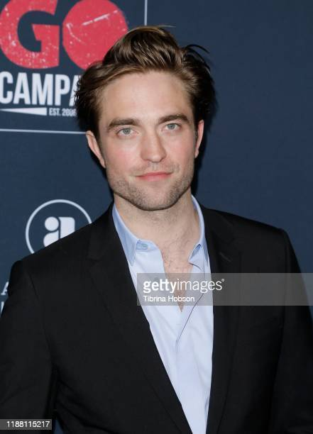 Robert Pattinson attends the Go Campaign's 13th Annual Go Gala at NeueHouse Hollywood on November 16, 2019 in Los Angeles, California.