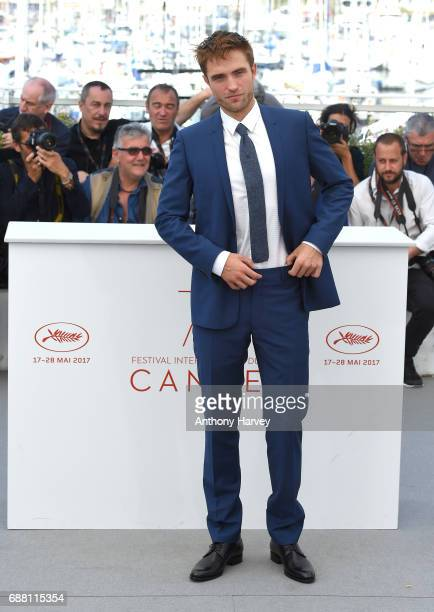 Robert Pattinson attends the 'Good Time' Photocall during the 70th annual Cannes Film Festival at Palais des Festivals on May 25 2017 in Cannes France