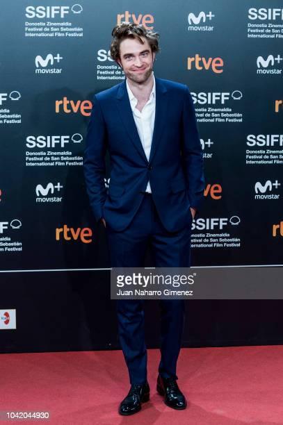 Robert Pattinson attends the 'High Life' premiere during the 66th San Sebastian International Film Festival on September 27 2018 in San Sebastian...