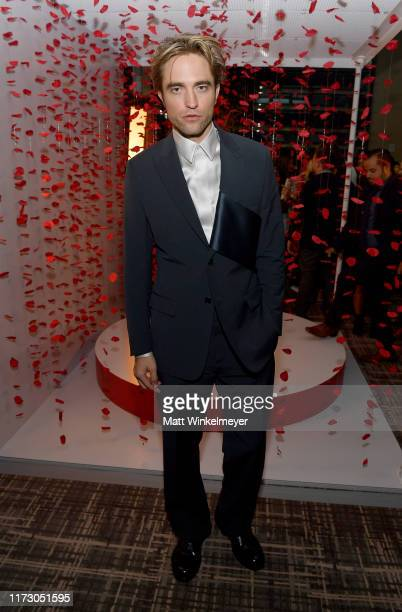 Robert Pattinson attends The Hollywood Foreign Press Association and The Hollywood Reporter party at the 2019 Toronto International Film Festival at...