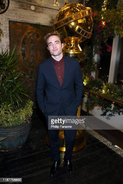 Robert Pattinson attends the Hollywood Foreign Press Association and The Hollywood Reporter Celebration of the 2020 Golden Globe Awards Season and...