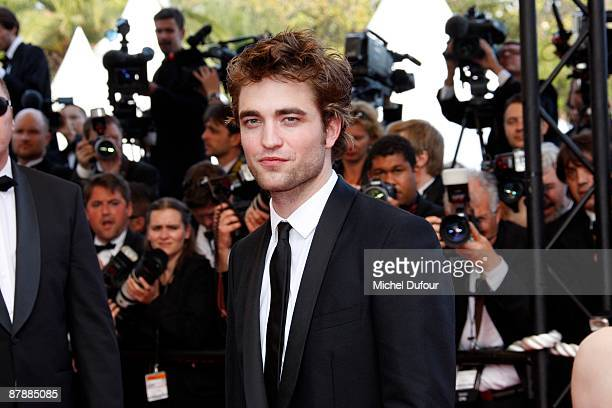Robert Pattinson attends the Inglourious Basterds premiere held at the Palais Des Festivals during the 62nd International Cannes Film Festival on May...