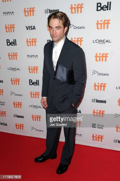 Robert Pattinson attends The Lighthouse premiere during the 2019 Toronto International Film Festival at Ryerson Theatre on September 07 2019 in...