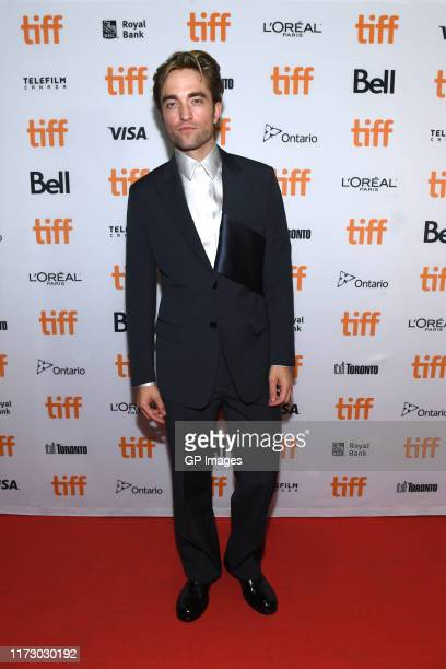 """Robert Pattinson attends """"The Lighthouse"""" premiere during the 2019 Toronto International Film Festival at Ryerson Theatre on September 07, 2019 in..."""