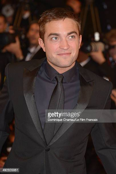 Robert Pattinson attends the 'Maps To The Stars' Premiere at the 67th Annual Cannes Film Festival on May 19 2014 in Cannes France