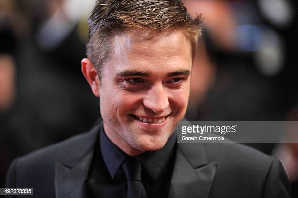 Robert Pattinson attends the 'Maps To The Stars' premiere during the 67th Annual Cannes Film Festival on May 19 2014 in Cannes France