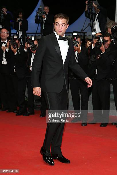 Robert Pattinson attends 'The Rover' premiere during the 67th Annual Cannes Film Festival on May 18 2014 in Cannes France