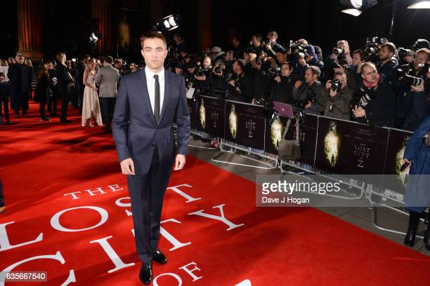 Robert Pattinson attends the UK premiere of The Lost City of Z at British Museum on February 16 2017 in London England