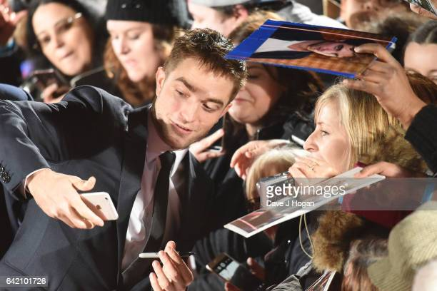 Robert Pattinson attends the UK premiere of 'The Lost City of Z' at British Museum on February 16 2017 in London England
