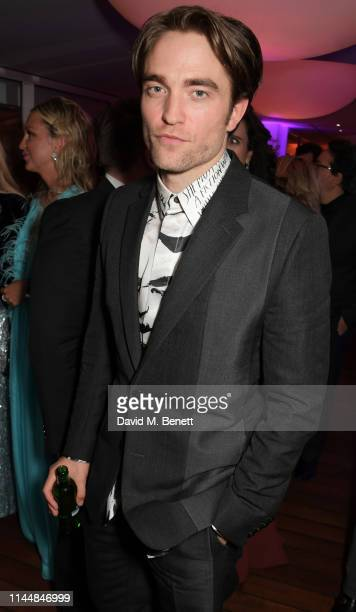Robert Pattinson attends the Vanity Fair and Chopard Party celebrating the 72nd Annual Cannes Film Festival at Hotel du CapEdenRoc on May 18 2019 in...