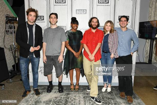 Robert Pattinson Buddy Duress Talia Webster Joshua Safdie Jennifer Jason Leigh and Ben Safdie visit Build to discuss the film 'Good Time' at Build...
