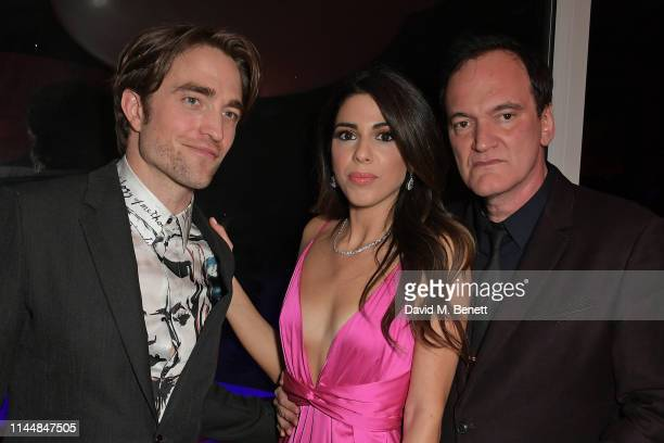 Robert Pattinson Daniella Pick and Quentin Tarantino attend the Vanity Fair and Chopard Party celebrating the 72nd Annual Cannes Film Festival at...