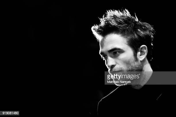Robert Pattinson is seen during the 68th Berlinale International Film Festival Berlin at on February 16 2018 in Berlin Germany
